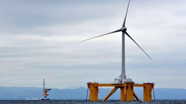 8月僑外投資金額創歷史第三高,離岸風電投資占大宗。(圖:AFP)