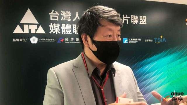 神盾技術長林功藝。(鉅亨網記者魏志豪攝)