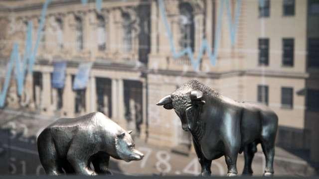 歐美股市週一急跌 市場憂歐洲疫情復燃跡象(圖:AFP)
