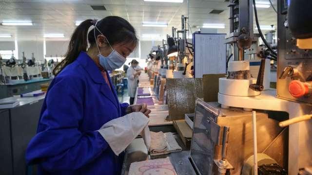 達新緬甸子公司配合政府政策暫停生產。(圖:AFP)