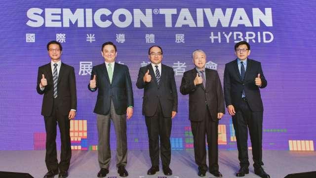 EMICON Taiwan 2020 國際半導體展今(22)日舉行展前記者會。(圖:SEMI提供)