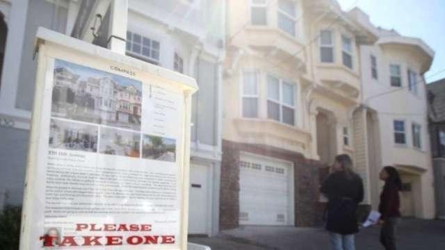 美國8月成屋銷售水平飆至14年新高 年化總數報600萬戶  (圖:AFP)