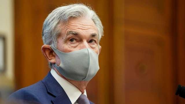 鮑爾:疫情得到控制之前 無法期待全面經濟復甦。(圖片:AFP)