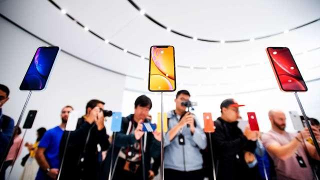 蘋果5G版iPhone備受矚目!分析師:iPhone 12系列平均售價可能更高(圖片:AFP)