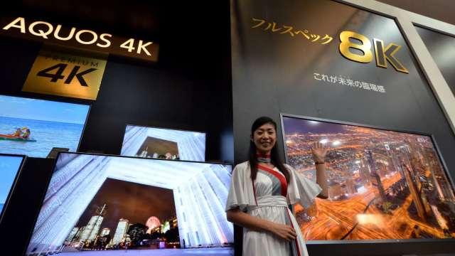 Omdia:全球電視出貨估Q3年增4% 全年年減3%(圖片:AFP)