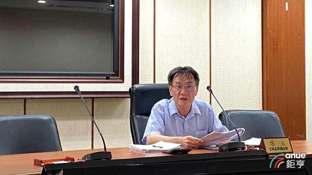 經濟部統計處副處長黃偉傑。(鉅亨網記者劉韋廷攝)