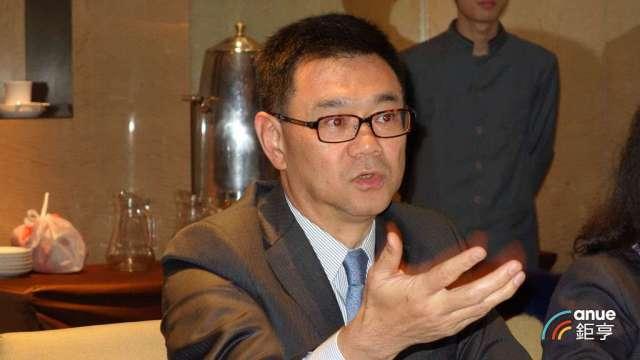 達麗建設董事謝志長。(鉅亨網記者張欽發攝)