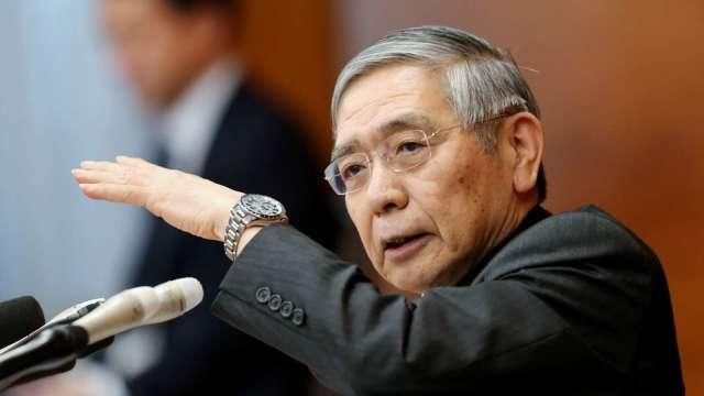 日銀總裁黑田:可能延長協助企業計畫 並與政府密切合作(圖:AFP)