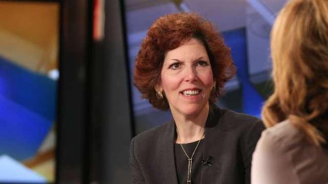 克利夫蘭聯邦準備銀行總裁梅斯特 ( Loretta Mester) 。(圖片:AFP)