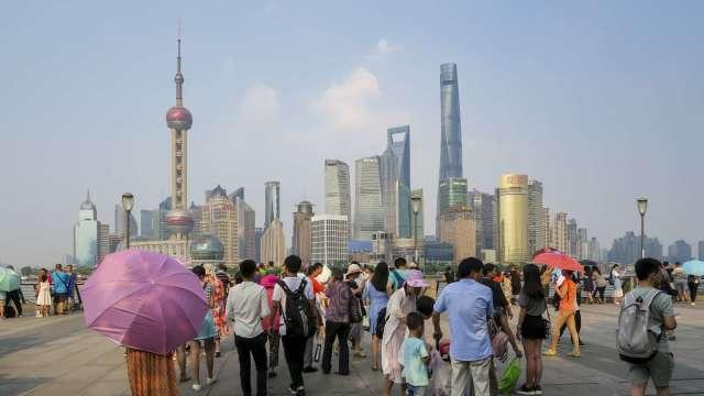中國褐皮書:疫情後復甦並不均衡 內陸省份仍陷衰退(圖:AFP)