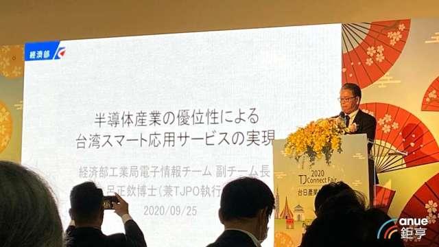 經濟部工業局電資組副組長兼TJPO執行長呂正欽。(鉅亨網記者劉韋廷攝)