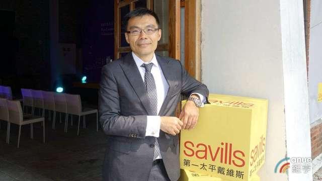 第一太平戴維斯董事長黃瑞楠。(鉅亭網記者張欽發攝)