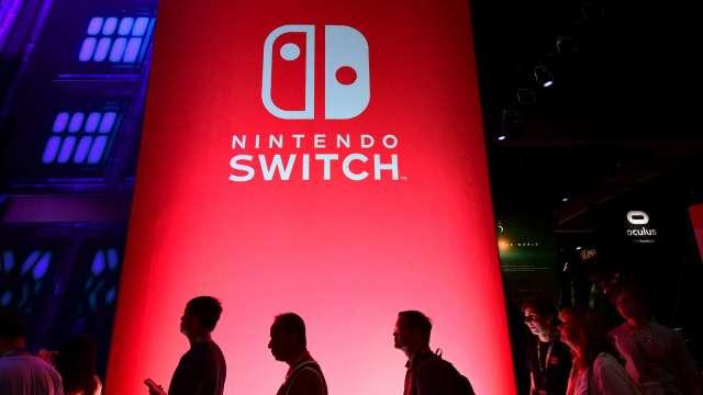 任天堂遊戲主機與軟體銷售持續暢旺。(圖:AFP)
