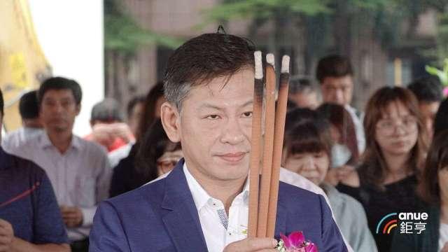 新潤建設機構董事長黃文辰。(鉅亨網記者張欽發攝)