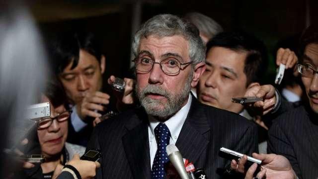 克魯曼:拜登若勝選應保持美國對中國強硬立場 少談貿易 (圖:AFP)