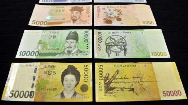 低波動時代 韓元、馬來西亞令吉將是融資套利交易潛在贏家。(圖:AFP)