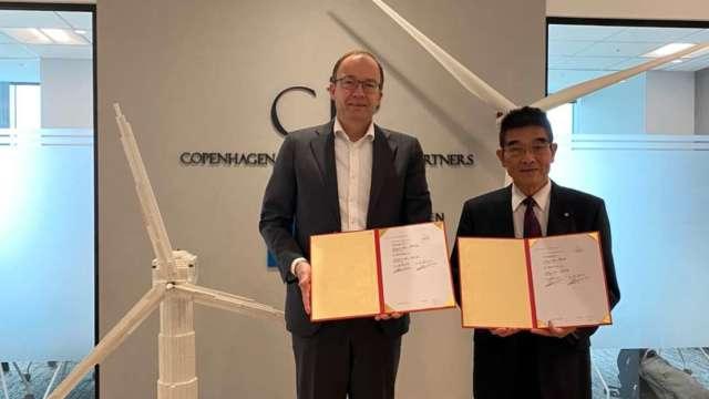 CIP與華城電機簽署機艙組裝廠工程合約。(圖:CIP提供)