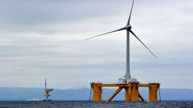 離岸風電供應鏈目前生產都逐漸進入高峰。(圖:AFP)