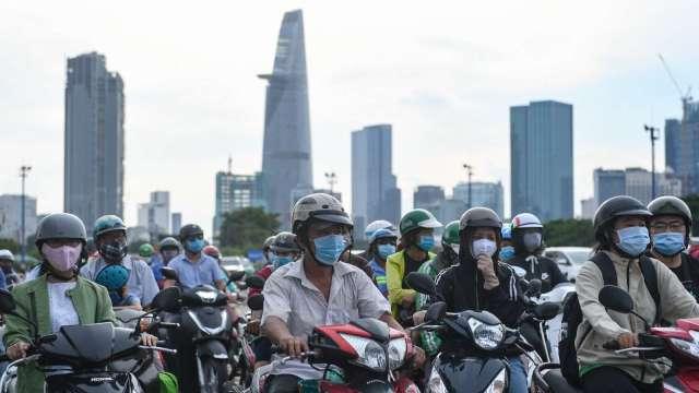 公共投資奏效 Q3越南GDP實質成長2.62% (圖片:AFP)