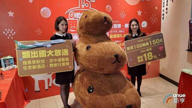 環球購物中心周年慶成長目標5%。(鉅亨網記者王莞甯攝)
