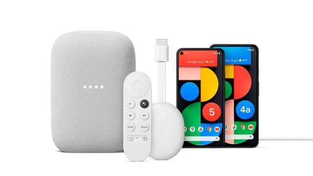Google新品齊發:Pixel 5G新機、Nest Audio智慧音箱、遙控Chromecast (圖取自Google)