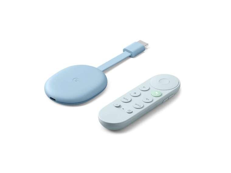 新版Chromecast和遙控器,圖取自Google