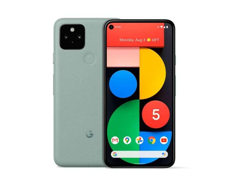 Google Pixel 5,圖取自Google