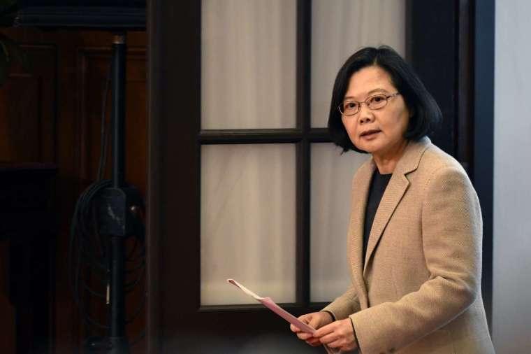 8 月 28 日台灣總統蔡英文宣布放寬對美牛肉、豬肉進口至台灣的限制 (圖片:AFP)