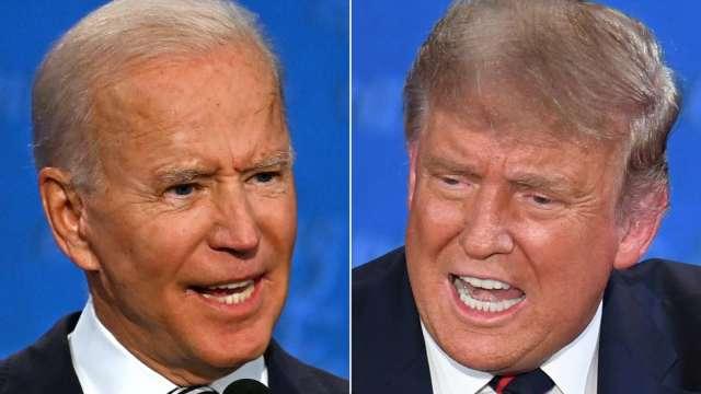 就是要搶麥!川普不同意改變辯論規則 (圖片:AFP)