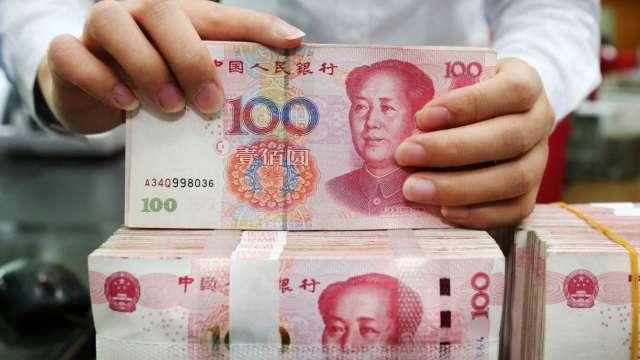 人民幣Q3寫12年來最強表現 漲幅勝避險貨幣 (圖:AFP)