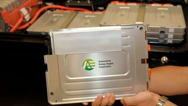 前8月 全球電動車電池銷售LG化學居冠 寧德時代居次(圖片:AFP)