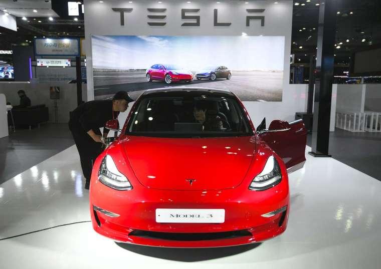 特斯拉 Model 3 (圖片:AFP)