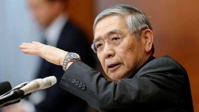 黑田東彥:日本景氣朝改善方向發展 LIBOR問題須積極因應 (圖片:AFP)
