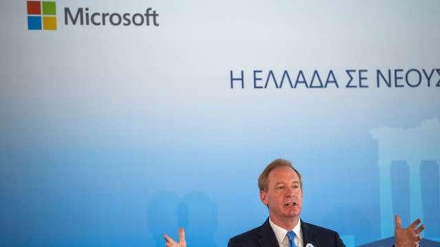 發展雲端基建 微軟砸10億美元為希臘建三座資料中心    (圖:AFP)