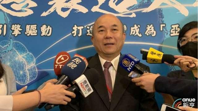 台灣機械公會理事長柯拔希。(鉅亨網記者林薏茹攝)