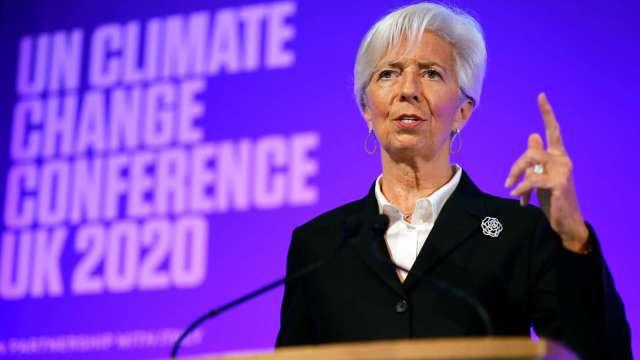 拉加德:第二波疫情恐將阻礙歐元區經濟復甦(圖片:AFP)