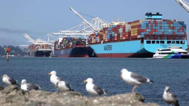 美國8月貿易逆差擴大至671億美元 近14年新高(圖:AFP)