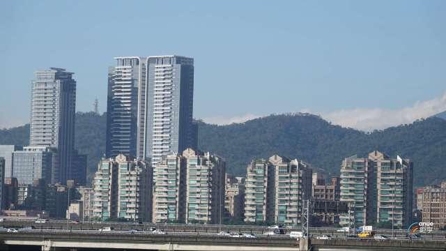 今年前8月台北市豪宅交易,目前以中山區成交量39筆最大。(鉅亨網記者張欽發攝)