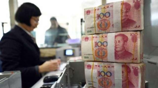 中國外匯存底降至3.14兆人民幣 結束連五升(圖片:AFP)