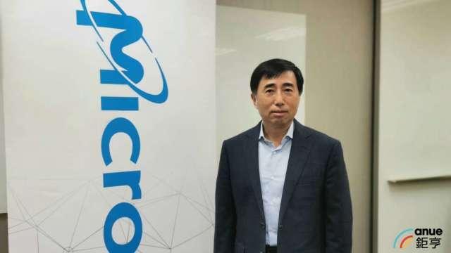 美光(Micron)企業副總裁暨台灣美光董事長徐國晉。(鉅亨網記者林薏茹攝)