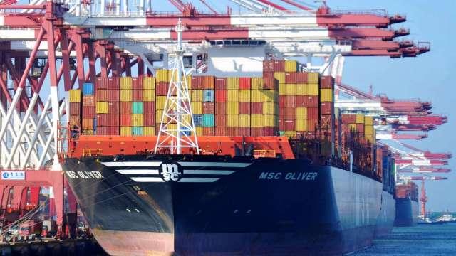 外貿好轉 第三季中國進、出口同創下歷史新高(圖片:AFP)