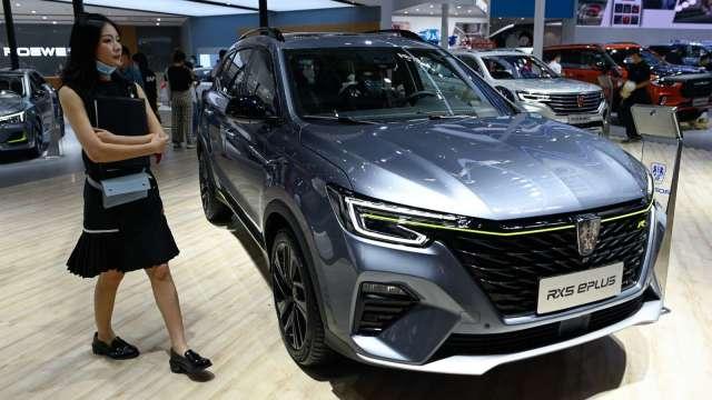 中國9月汽車銷量年增12.8% 連續6個月成長 (圖片:AFP)
