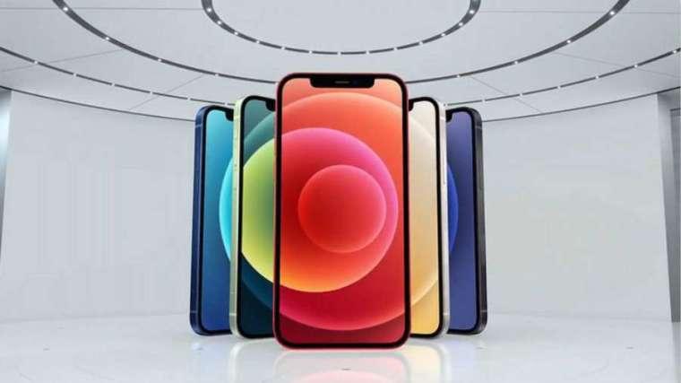 蘋果推出四款 5G iPhone (圖片:蘋果)