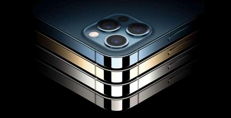 iPhone 12 Pro/Max 提供四色選擇 (圖片:蘋果)