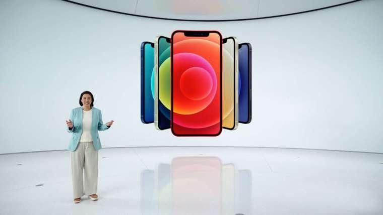 新款 iPhone 12 有多種顏色可選
