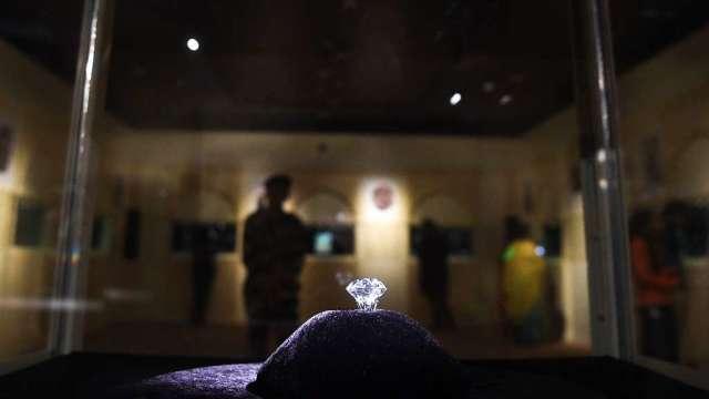 疫情打擊全球需求 印度鑽石全年出口料減25%(圖:AFP)