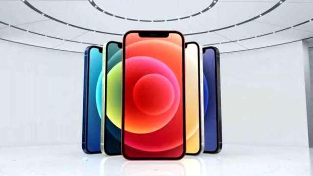 五大電信商開放預約登記,民眾最愛平價款iPhone12。(圖:取自蘋果官網直播)