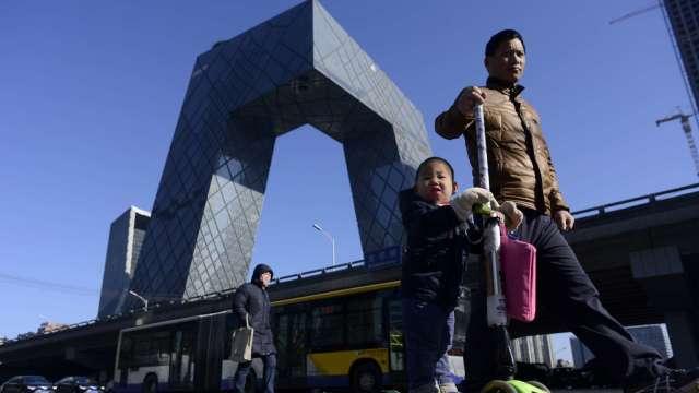 中國消費復甦可能成為第四季度經濟增長的主要推動力。(圖:AFP)