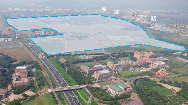 5000億投資列車開進大南方 錢進科技新廊道。(圖:高雄市經發局提供)