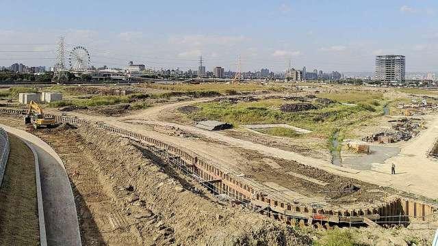 台北市北士科軟橋段科專區土地。(圖:台灣房屋提供)